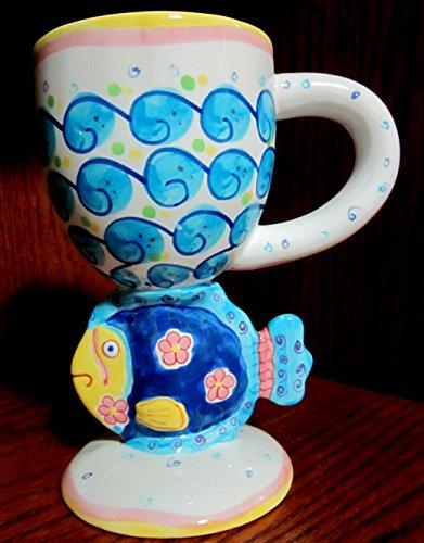 Bella Casa Ceramics - Ceramic Bella Casa Fish Mug/Cup