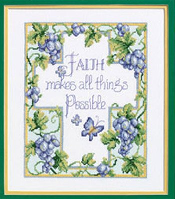 Janlynn All Things Possible Stmpd X-Stitch Kit