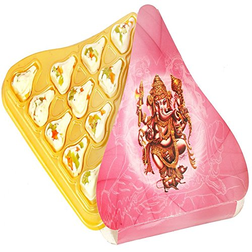 Ghasitaram Gifts Sweets Ganesha Chaturthi Gifts Modaks Fruit Chocolate Modaks by Ghasitaram Gifts