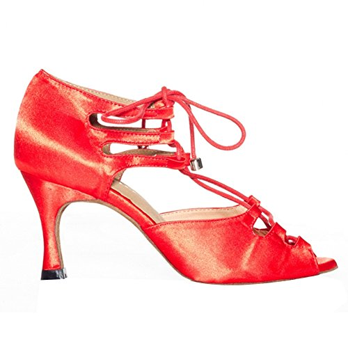 misu , Damen Tanzschuhe Rot rot