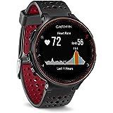 Relógio - Garmin Forerunner 235 - Preto / Vermelho - 010-03717-71 (c/ HRM - Monitor cardíaco)