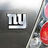 NFL New York Giants Chrome Automobile Emblem