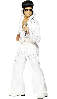 Elvis rocker costume black large amazon toys games elvis presleytm fancy dress costume adult size large solutioingenieria Image collections