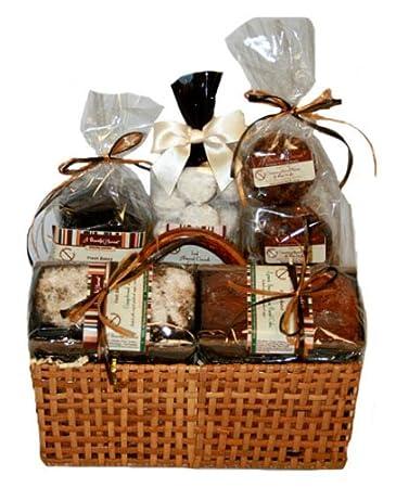 Amazon gluten free baked goods in wicker basket gourmet gluten free baked goods in wicker basket negle Choice Image