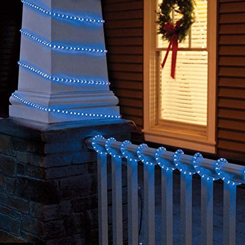 Top 10 holiday time rope lights of 2018 no place called home 5 18 ft crystallized rope light blue aloadofball Gallery
