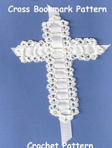 Crochet Cross (Religious Cross Book Marker, Bible Bookmark Pattern Crochet)