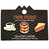 twin peaks game - Twin Peaks Enamel Lapel Pin 3-Pack
