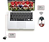 Arratta Soccer Wireless Optical Mouse with a