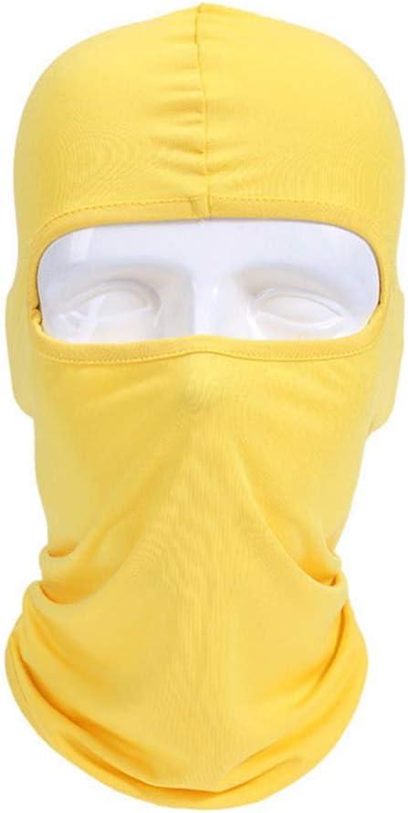 ETbotu Lycra Fabrics Ski Masque Facial Moto V/élo V/élo Planche /à roulettes Cagoule