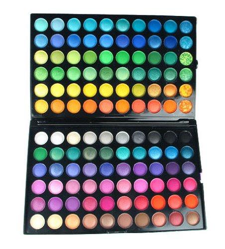 Bundle Monstre 120 Full Color Eye Shadow Pro (paupières) Cosmétiques Palette de maquillage - Shimmer / Matte Combo