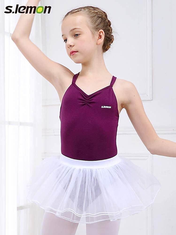 s.lemon Baby Girls Ballet Dance Tutu Skirt