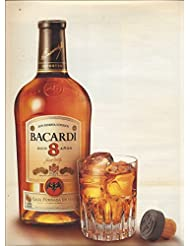 MAGAZINE AD For Bacardi 8 Year Rum 2010 With Age Comes Refined Taste
