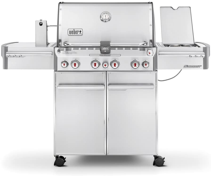 Weber 7170001 Summit S-470 4-Burner Liquid Propane Grill and Smoker review