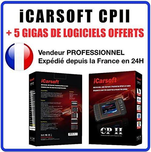 508 Partner 2008 RCZ 807 1007 308 Boxer 301 3008 607 307 5008 iCarsoft CPII PSA Oel Service Reset Expert 4007 DPF Reset: 207 208 Diagnose for Peugeot Citroen 407 408