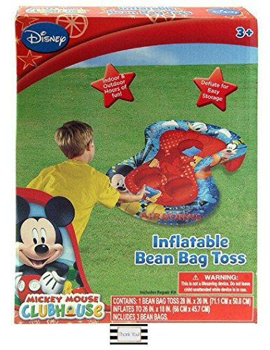 Mickey Mouse Clubhouse Inflatable Bean Bag Toss (Outdoor/Indoor Toys & Games)