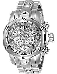 Invicta Reserve Women's Venom Quartz Chronograph 0.73ctw Diamond Stainless Steel Bracelet Watch-21602