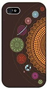 iPhone 5C Solar System, Art - black plastic case / Space, Stars, Fantasy