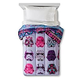 New Star Wars® Classic Girl Stormtrooper Comforter Twin Purple