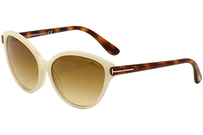 Tom Ford Gafas de Sol Priscila (60 mm) Blanco: Amazon.es ...