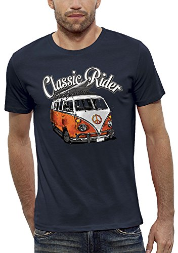 Rider Homme Pixel T Evolution Marine shirt Classic UxFSqI