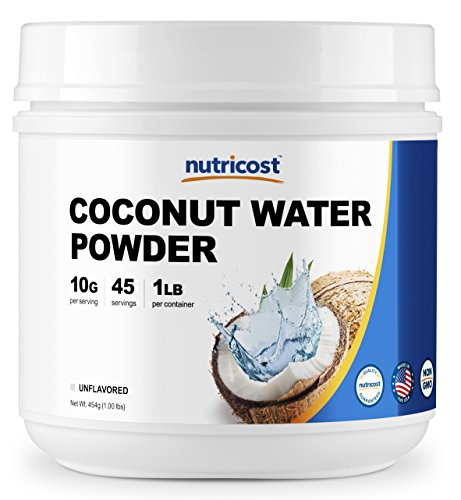 Nutricost Coconut Water Powder 1LB (45 Servings) - Non-GMO, Pure Coconut Water