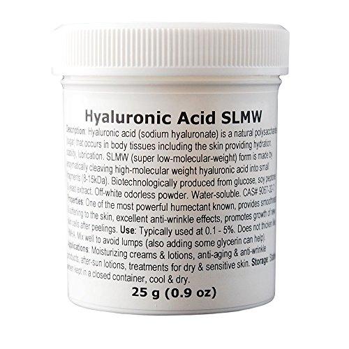 MakingCosmetics - Hyaluronic Acid (Super Low Molecular Weight) - 0.9oz / 25g - Cosmetic Ingredient
