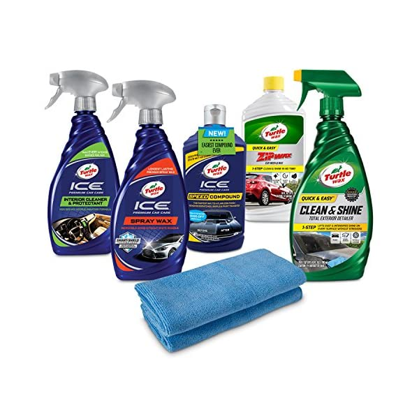 Turtle Wax 50753 Ultimate Boat & Jet Ski Cleaning Kit, 98. Fluid Ounces