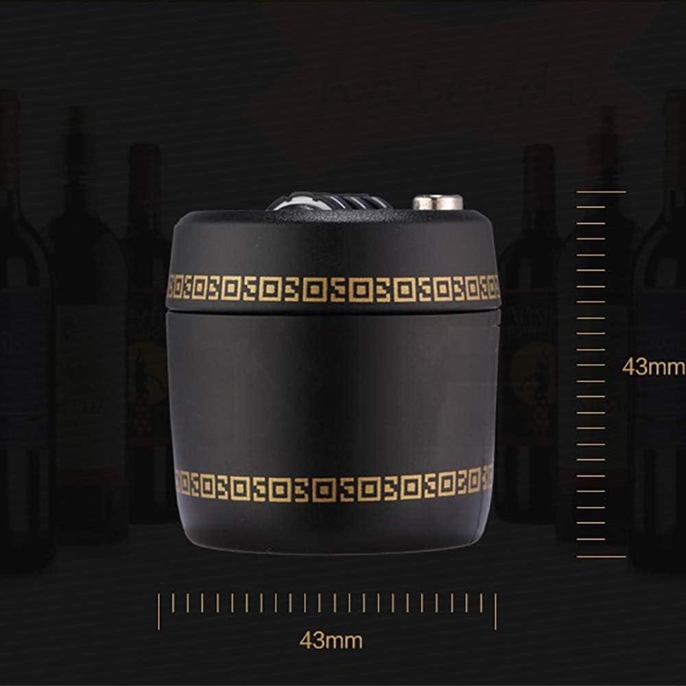 HLKJ Cerradura De Combinaci/ón Botellas De Pl/ástico De D/ígitos De Contrase/ña Combinaci/ón De La Cerradura del Tap/ón del Vino para El Vino Y La Botella del Licor Botella De Vino Whisky Top