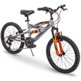 Huffy 20 Valcon Boys 6-Speed Mountain Bike, Charcoal Gray