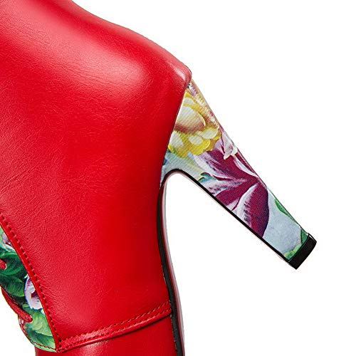 Cuña Mns02707 1to9 Red Mujer Con Sandalias q8qxSHA