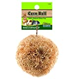 Ware Manufacturing Natural Corn Leaf Ball Toy for Small Pets, Large