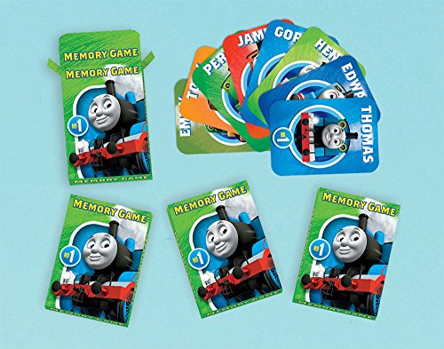 Thomas All Aboard Memory Game, Party Favor]()