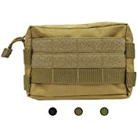 TacticalGear MOLLE Pouch - Multipurpose Tactical Utility Bag - Nylon 600D EMT Pouch for Hiking Riding Camping Outdoor Sports