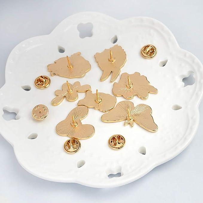 Amazon.com: Broche de mariposa de hierro, diseño de abejas ...
