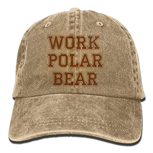 Work DEFFWB Cap Polar Cowboy Bear Skull Women Men for Hats Cowgirl Hat Denim Sport ggBrq5w