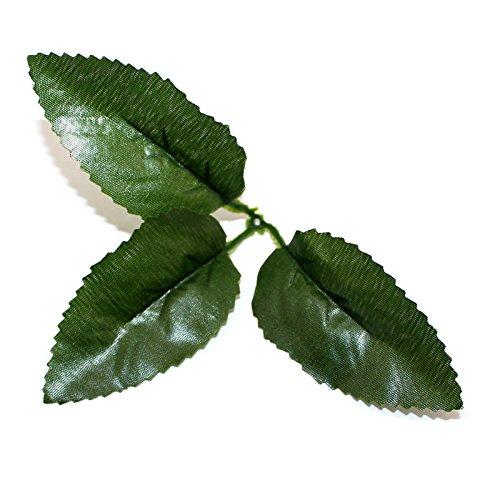 20pcs-lot-dark-green-artificial-rose-flower-leaves