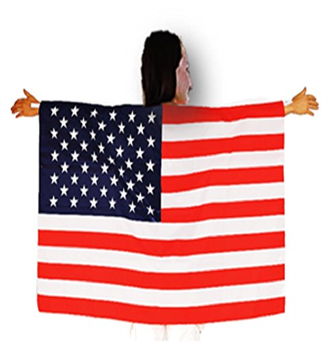 Costume Of Usa For Kids (Playo American Flag Design Cape 40