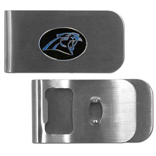 Carolina Panthers Nfl Bottle Opener - Siskiyou NFL Carolina Panthers Bottle Opener Money Clip