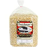 Dutchman's Popcorn - Medium Hulless White Popcorn Kernels - Four Pound Refill Bag, Old Fashioned and Non GMO, Family Grown, Gluten Free, Microwaveable, Stovetop and Air Popper Friendly