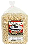 Dutchman's Popcorn - Medium Hulless White Popcorn Kernels - 4 lb Refill Bag, Old Fashioned and Non GMO, Family Grown, Gluten Free, Microwaveable, Stovetop and Air Popper Friendly