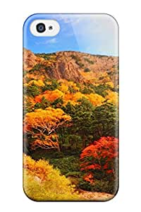 Awesome Design Autumn Earth Nature Autumn Hard Case Cover For Iphone 4/4s