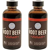 Hires Big H Root Beer Extract, Make Your Own Root Beer - 2 Pack