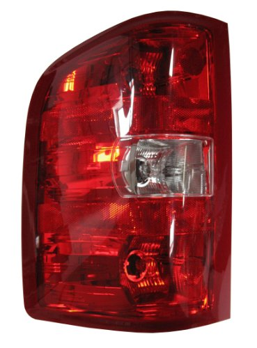 Tail Light Oem Driver - Aftermarket Replacement Replacement Driver Side Taillight Assembly