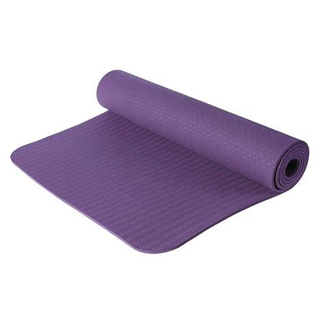 kMOoz Estera De Yoga Pilates Antideslizante Mat Aptitud ...