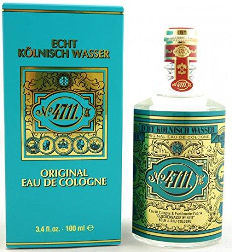Muelhens 4711 Eau De Cologne for Unisex, 3.3 Ounce (4711 Perfume)