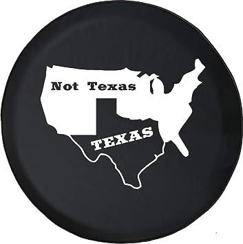 Texas Longhorns Black Spare Tire Cover