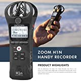 Zoom H1n Digital Handy Portable Recorder and 16GB