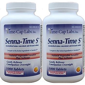 Amazon Com Senna Time S Generic For Senokot S Natural