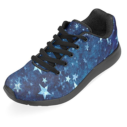 Sneaker Jogging Womens 1 Go Vintage Running InterestPrint Stars Shoes Walking Comfort Easy Casual Multi Running Lightweight tARxwwqS