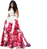 Nena Fashion Women's Party Wear (choli for wedding function for women gowns for girls party wear 20 years latest choli collection 2017 new design dress for girls new collection today low price new gown for girls party wear) - Zorba Red - SEMI - STICHED